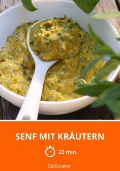 Senf mit Kräutern - smarter - Zeit: 20 Min. | eatsmarter.de