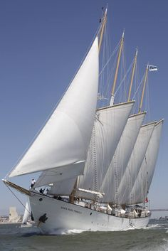 Another Great Sailboat of Portuguese origin registered for The Tall Ships Races . - Another Great Sailboat of Portuguese origin registered for The Tall Ships Races Lisbon 2016 // Sant - Tall Ships, Old Sailing Ships, Float Your Boat, Yacht Boat, Tug Boats, Sail Away, Wooden Boats, Water Crafts, Yachts