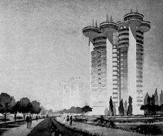 Torres Blancas - Francisco Javier Sáenz de Oiza