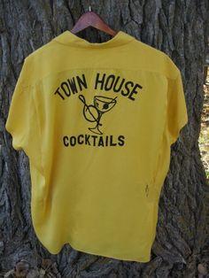 Nice vintage bowling shirt