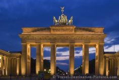 Brandenburger Tor in the city of Berlin, Germany