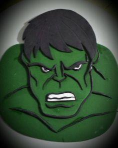 Hulk cake topper Hulk Birthday Cakes, Birthday Cakes For Teens, Cupcake Birthday Cake, Birthday Cake Decorating, Cupcake Cookies, Cookie Decorating, Cupcakes, Superhero Cookies, Superhero Cake