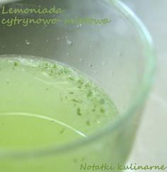 Lemoniada miętowo-cytrynowa