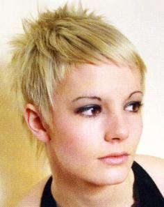 Short Haircut for Fine Straight Hair