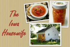 The Iowa Housewife: Wonderful, Easy Pimientos - Marinated Sweet Peppers with Garlic Pineapple Jello, Canned Cranberries, Canning Peaches, Corn Relish, Butter Pecan Cookies, Roasted Pork Tenderloins, Deli Sandwiches, Spinach Quiche, Pie Tops