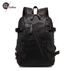 Men's Backpack Tactical Sac A Dos Leather Backpack http://ebagsbackpack.tumblr.com/