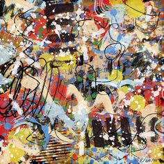 Week 8 AJC submission - Jackson Pollock..I call it Life's a Mess at Times :)