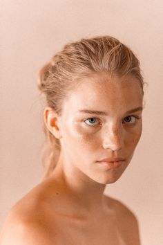 face beauty pink young pure woman