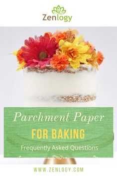 The most common questions answered (FAQs). We at Zenlogy strive to make innovative non toxic products for every kitchen in every home for our environment and health conscious customers. We are here to help you find the answers to the most common questions about parchment paper and its uses. What makes this nonstick? Silicone or quinlon coating? Is the silicone vegetable based? Is this BPA free & hormone free? Can these sheets be used more than one time on each side? Check out our website! Baking Recipes, Dessert Recipes, Desserts, Fun Food, Good Food, Question And Answer, This Or That Questions, Parchment Paper Baking, Most Common