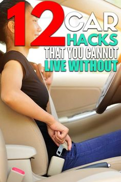 12 car organization hacks that will keep your car organized and free of clutter! Car Life Hacks, Car Hacks, Dandy, Organization Hacks, Cleaning Hacks, Cars, Ideas, Dandy Style, Autos