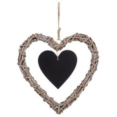 This Ratten heart wreath will look lovely at any time of the year #ChristmasUnleashed