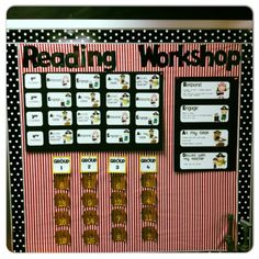 stickers and staples: Pirate Reading Rotation Board