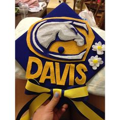 Current Aggies aren't the only ones excited for graduation. Check out how Oakland High School grad and incoming freshman, Jackiee is showing her Aggie Pride.  Congrats Jackiee, we can't wait to welcome you to UC Davis! Go Ags!