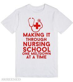 making it through nursing school one meltdown at a time #Skreened
