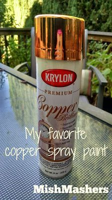 Copper Spray Paint Tutorial