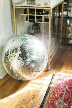 Bringing the Party Home: Disco Ball Decor | Apartment Therapy #homedecorrustic