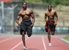 Are you looking to decrease fatty tissue while increasing muscle mass? Are you in need of a flat board stomach and amazing gluts? The antidote is simple. Hit the track! Sprinters are not only fast, but they are strong and powerful. I can attest to th this is certainly fantastic!   Visit  http://okbehealthy.com