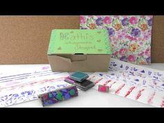 7 Arten, Stempel selber zu machen / Musterpapier selber machen / mit Sachen die man zu Hause hat - YouTube