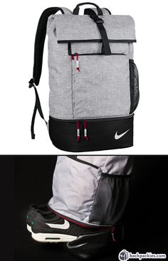 Nike backpack with shoe compartment - Work to Gym backpacks for men