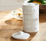Rhodes Ceramic Stacking Spice Container Tower