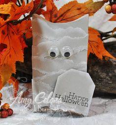 Halloween Mummy Box or lollipop cover