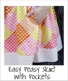 Easy Peasy Skirt with Pockets