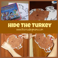 Twas the Night Before Thanksgiving: Love this activity that is perfect for a take home family project.