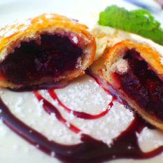 Cherry Hand Pie from Zinc Bistro Wine Bar