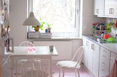 The sweet, sweet kitchen of Mimmi Staaf — Furniture Designer  Store Owner, Apartment  Store, Midsommarkransen, Stockholm.