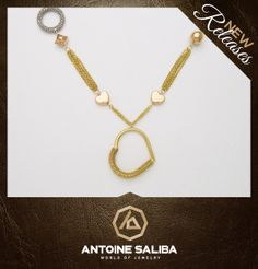 #Necklace 18Kt #Gold  Click for Details  http://www.antoinesaliba.com/link.php?id=444