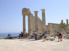 #Lindos #Akropolis #Rhodos pinned from http://www.rhodos.info/infos/staedte/lindos.html