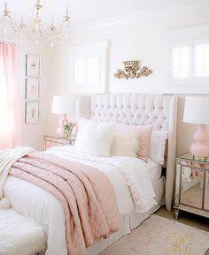 Cute Bedroom Ideas Girls That Will Make a Beautiful Dream – Pandriva – bedroom decor diy – einrichtungsideen wohnzimmer Room Makeover, Pink Bedroom Design, Bedroom Makeover, Home Bedroom, Apartment Decor, Room Decor Bedroom, Bedroom Decor, Girl Bedroom Decor, Aesthetic Bedroom