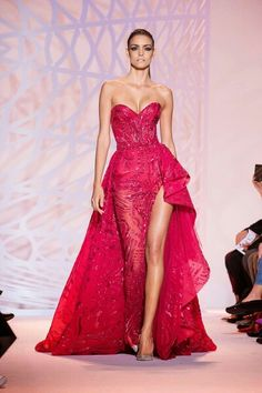 .Red Dress. Long in the back, short in the front. So cute style