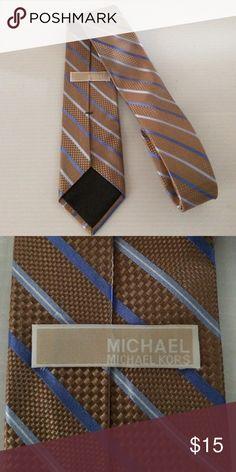 Michael Michael Kors men's Tie Preowned 100% silk Michael Kors Authentic Tie  57 inches 3.5 inches wide MICHAEL Michael Kors Accessories Ties