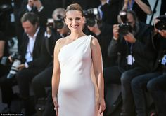 She shares a son with her husband,Benjamin Millepied and Natalie Portman is set to become a mother once again, unveiling her bump at the Planetarium premiere in Venice on Thursday.