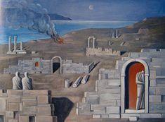 αρχαια ελλαδα τοπιο - Αναζήτηση Google Civilization, Mount Rushmore, Roman, Greek, Mountains, Landscape, Nature, Travel, Paintings