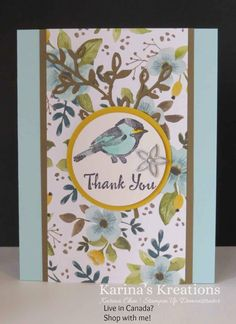 A blog about Stampin'Up card making, scrapbooking and 3-d projects by Karina Chin.