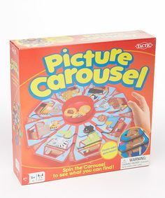 Love this Picture Carousel Game by Tactic Games USA on #zulily! #zulilyfinds