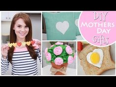 Rosanna Pansino's Mother's Day Ideas - I love the idea of making a heart-themed breakfast for a loved one's birthday!