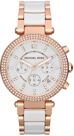 $190 Michael Kors Parker Two-Tone Ladies Watch