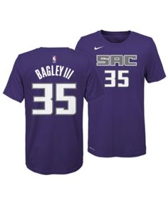 287014468a5 Nike Marvin Bagley Iii Sacramento Kings Icon Name and Number T-Shirt, Big  Boys (8-20) - Purple L