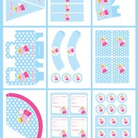 Peppa Pig Hada: Kit para Imprimir Gratis.