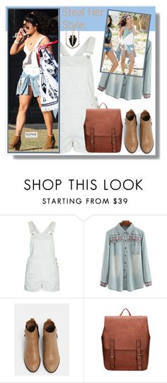 """:D"" by aminkicakloko ❤ liked on Polyvore featuring Topshop"