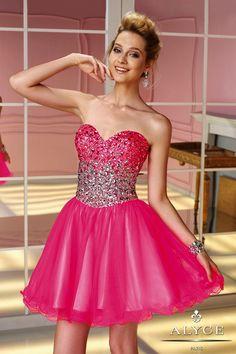 Prom DressesSweet 16 Dresses by ALYCE PARIS3588Dazzling Short!