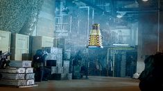 ''The 'new' Daleks can fly!'' - Doctor Who.S01E06 - ''Daleks'' (Doctor Who - BBC Series) source: http://www.bbc.co.uk/programmes/p01nw9mn/p01nw6xj