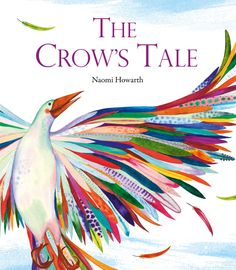 A beautiful retelling of a Lenni Lenape Native American myth about how the crow came to be black, and about what counts as real beauty. The Crow, Boomerang Books, American Crow, American Artists, Native American Legends, Collaborative Art, Art Lessons Elementary, Book Show, Art Plastique