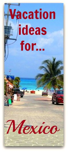 Some sample vacation itineraries for Mexico!! http://www.wheressharon.com/discussion/trip-suggestions-cancun-mexico/ #mexico #cancun #travel