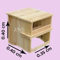Camping gift ideas [for roadtrip lovers and outdoor freaks] Folding Furniture, Space Saving Furniture, Furniture Plans, Wood Furniture, Woodworking Bench, Woodworking Projects, Woodworking Equipment, Palette Diy, Wood Stool