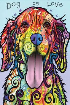 Art Pop, Dog Pop Art, Love Canvas, Canvas Art, Canvas Canvas, Canvas Size, Love Wall Art, Dog Paintings, Art Graphique