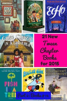 Part 2 of a series on brand new 2015 chapter books for 8-12 year olds. Recommended by a children's librarian.